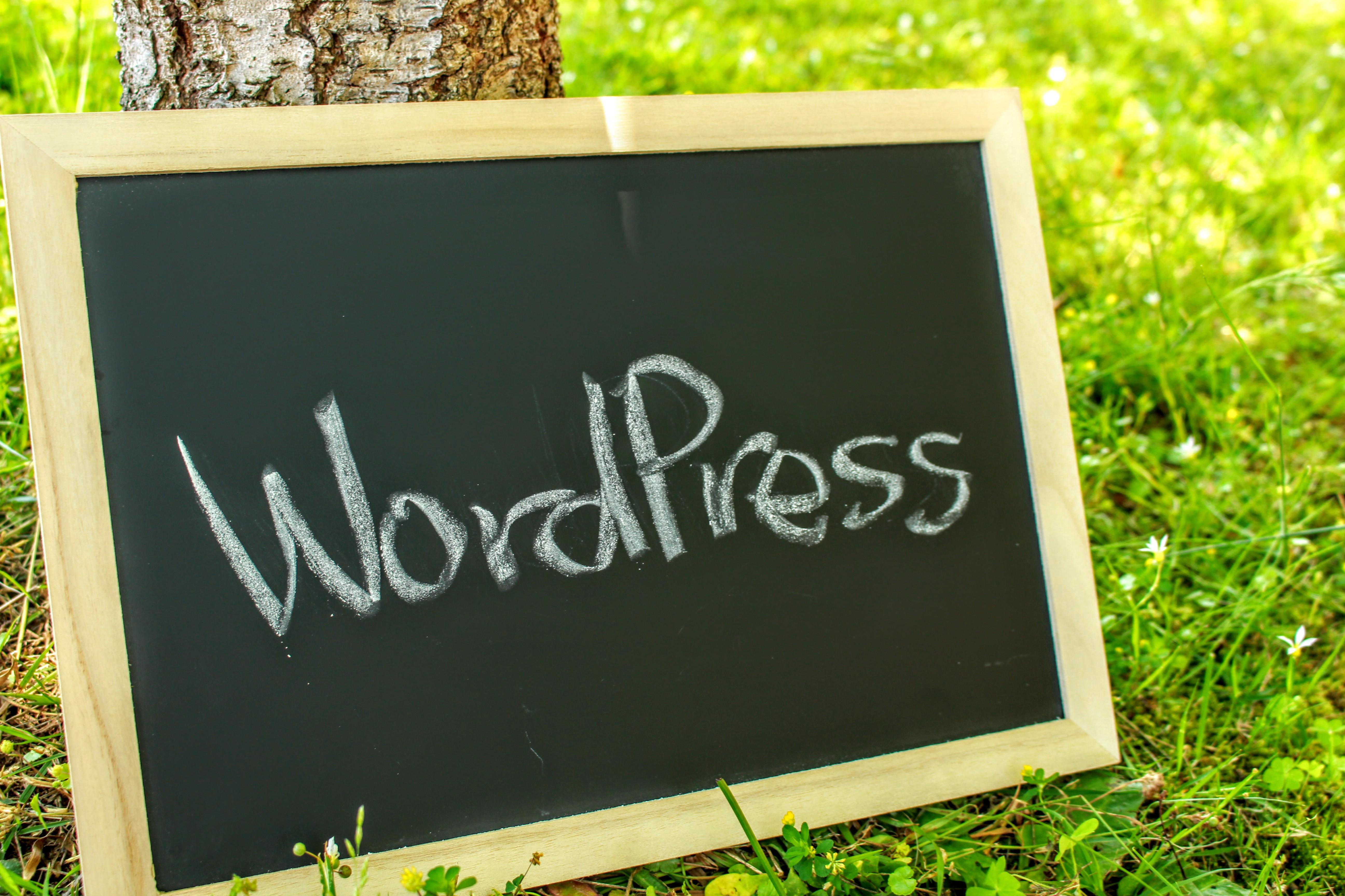 WordPressを使います